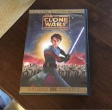 Star Wars Clone Wars DVD in Joliet, Illinois