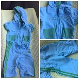 Sz 18 mon Adidas hoodie and capris in Vacaville, California