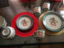 Christmas dishes in Fort Campbell, Kentucky