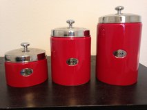 Kitchen Canisters- Set of 3 in Shreveport, Louisiana