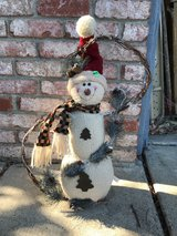 Snowman decor in Fairfield, California