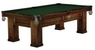 Brunswick Table- Antique(est 1920)- Olympic Size Slate in Joliet, Illinois