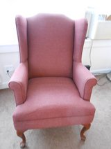 Wing Back Chair in Cherry Point, North Carolina