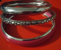 PINK & SILVER BANGLES in Shorewood, Illinois