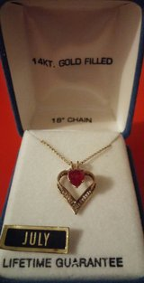 JULY NECKLACE in St. Charles, Illinois
