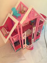 Barbie House, car and dolls in Okinawa, Japan