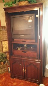 Tall TV Armoire (new price) in Fort Carson, Colorado