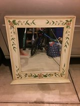 Reduced!! Large Beautiful Floral Mirror in Aurora, Illinois