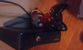 Xbox 360 250 gb 2 Controllers 10 Games in Fort Campbell, Kentucky