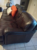 Leather couch in Baytown, Texas