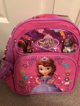 Sofia the first small backpack in Colorado Springs, Colorado