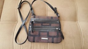 Brown and Black Purse by Nine West in Naperville, Illinois