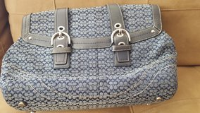 Coach Purse in Blue in Bolingbrook, Illinois