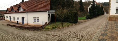 Duplex,Right House-side in Ramstein, Germany