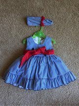 NEW Blue, white and red dress with bloomers and headband in Okinawa, Japan
