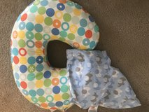 Nursing pillow w/2 covers in Wilmington, North Carolina