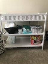 Changing table w/pad and pad cover in Wilmington, North Carolina