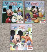 Disney Mickey Mouse Club House Book Lot of 3 Silly Day * X Marks The Spot * Listen To This in Joliet, Illinois