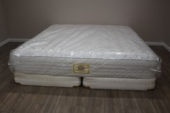 King Size Mattress (Stearns & Foster Rose Quartz Cushion Firm) in Tomball, Texas