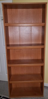 5 Shelf Wooden Book Case in Camp Lejeune, North Carolina