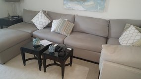 6 piece Sectional with Ottoman in Lake Elsinore, California