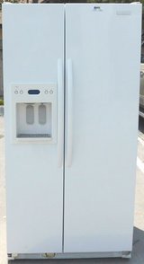 25 CU. FT. KITCHEN AID SIDE-BY-SIDE REFRIGERATOR- WHITE(FINANCING) in San Diego, California