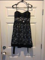 Little Black Party Dress with Lace in Fort Lewis, Washington