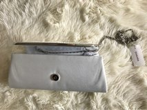 white clutch bag in Camp Pendleton, California