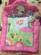 Tummy time mat in Fort Riley, Kansas