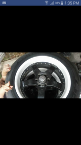 22 Inch Rims And Tires in Baytown, Texas