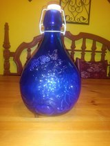 blue glass jar in The Woodlands, Texas