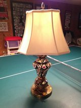 Antique Table Lamp w/Dolphins on the base in St. Charles, Illinois