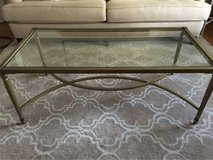 Beautiful Glass Coffee Table Like New in Aurora, Illinois