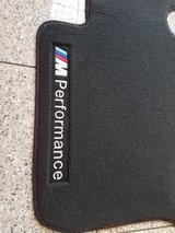 BMW F30 F31 ///M Performance Floor Mats set of 4 in Ramstein, Germany