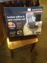 aerocore professional lumbar pillow and seat cushion set in Clarksville, Tennessee