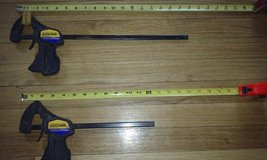 """Vintage 1991 Quick Grip American Tool Bar Clamps 12"""", 18"""" in Elgin, Illinois"""
