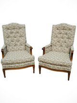 Vintage Henredon Accent / Arm Chair (Set of 2) in Tinley Park, Illinois