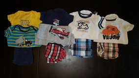 Baby boy 9 month summer clothes in Fairfield, California