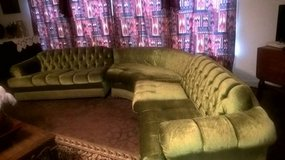 ANTIQUE 1950'S SECTIONAL SOFA in Biloxi, Mississippi