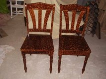 SET OF 2 HAND PAINTED ACCENT CHAIRS in Keesler AFB, Mississippi