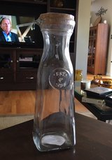 Glass Carafe With Stopper in Yorkville, Illinois