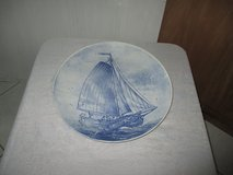 big plate with sail boat design in Ramstein, Germany