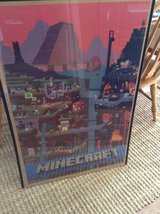Minecraft posters in Hopkinsville, Kentucky