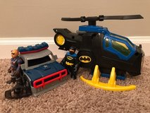 Fisher-Price Imaginext DC Super Friends, Batcopter and Police Car in Aurora, Illinois