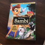 Bambi DVD in Bolingbrook, Illinois