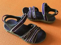 TEVA purple sandals toddler girls size 10 in Okinawa, Japan