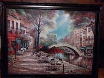 Huge Beautiful framed signed artist, scenic picture. in Pleasant View, Tennessee