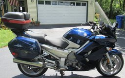 2012 Yamaha FJR 1300-A-Cobalt Blue~Very Sharp!! in Yorkville, Illinois