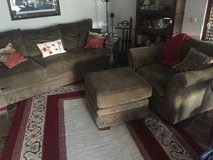 Couch and 1 chair/lounge.  Sold as set. in Stuttgart, GE
