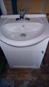Vanity with faucet never been used in Fort Polk, Louisiana